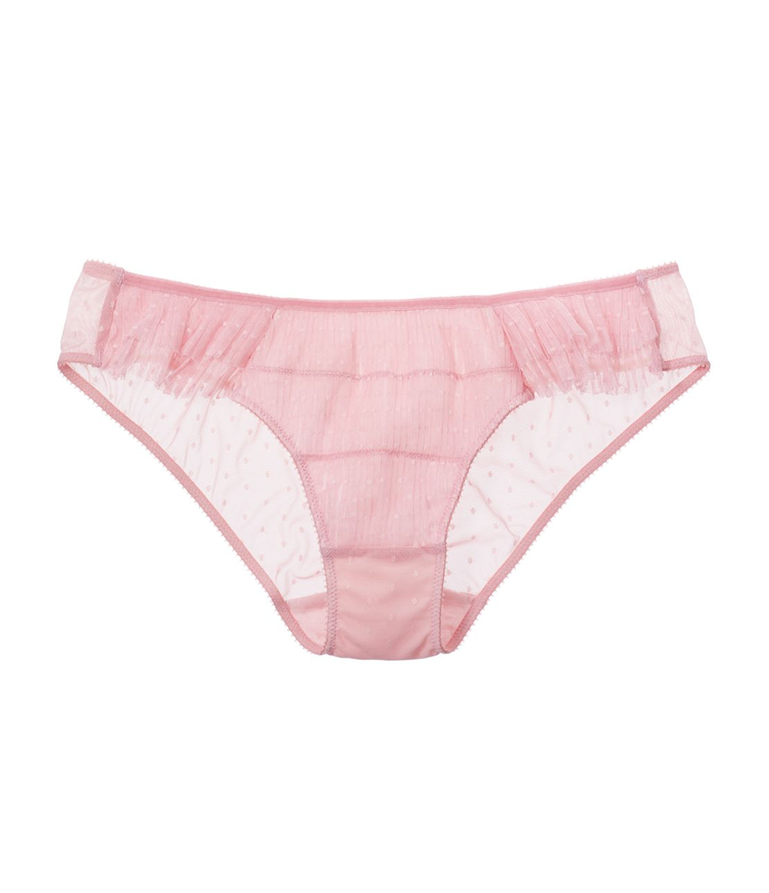 Deco Rutan panties pleated dot