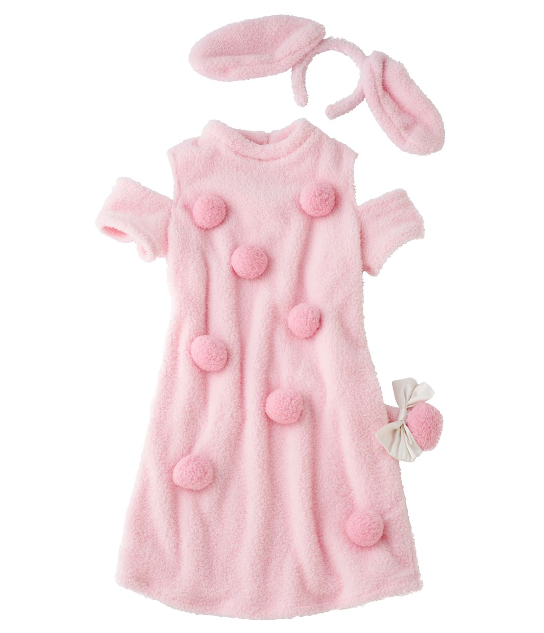 Happy Halloween poodle mini dress set
