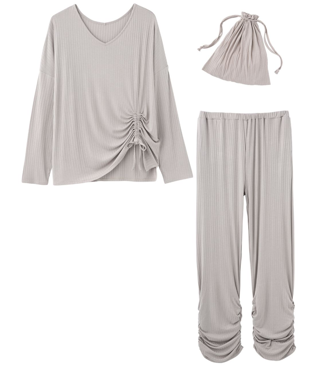 Dross tributyl Travel pajamas set