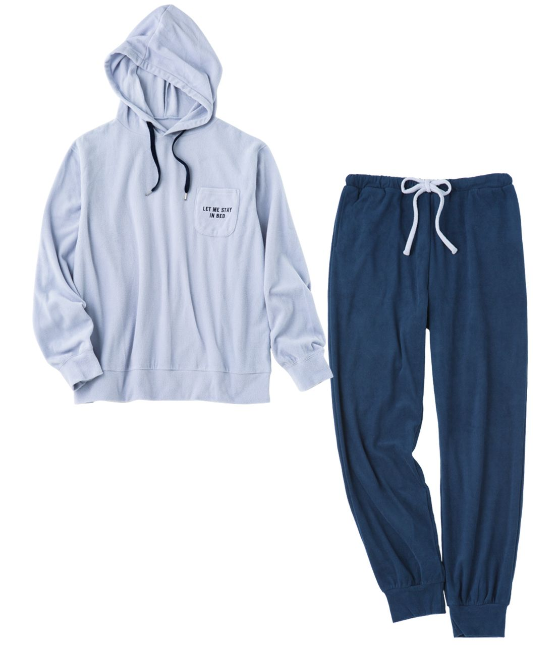Men's Good Three Pyi fleece pajamas