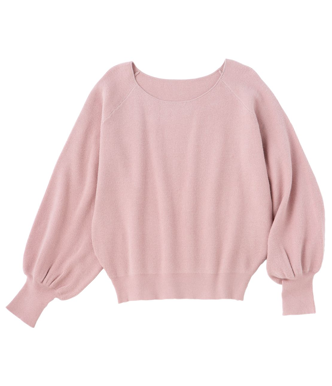 Puff sleeve knit