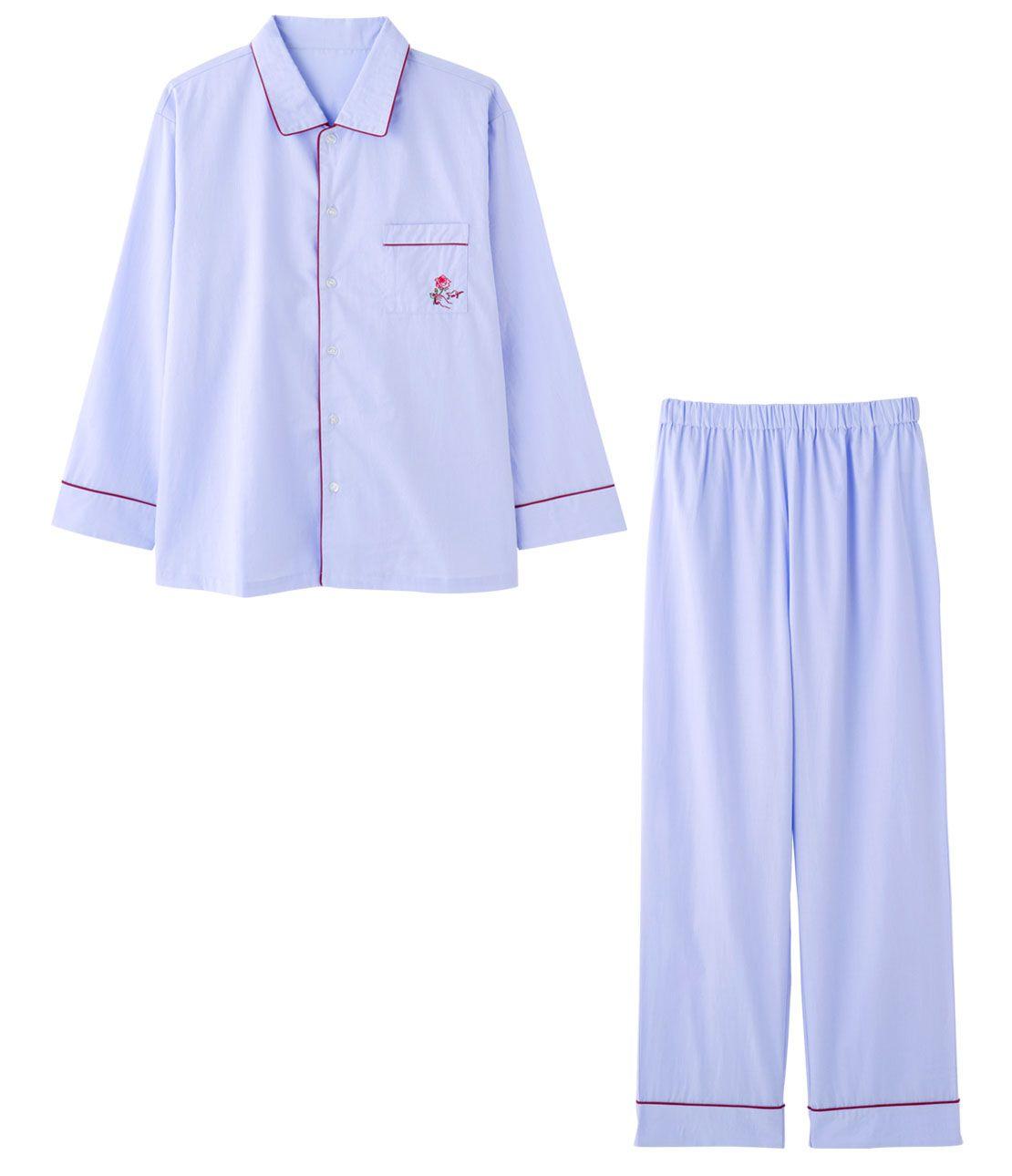 メンズコットンシャツパジャマ
