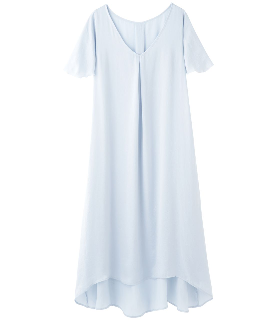 Relax satin dress