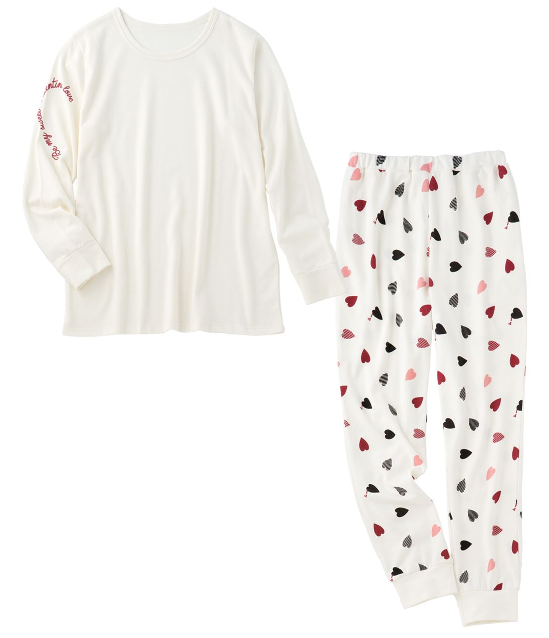 Men's Happy Lovers Heart Full pajamas