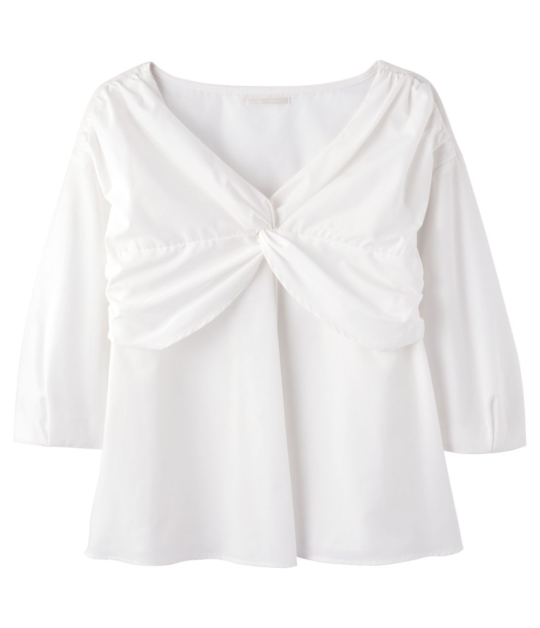 Bust twist blouse
