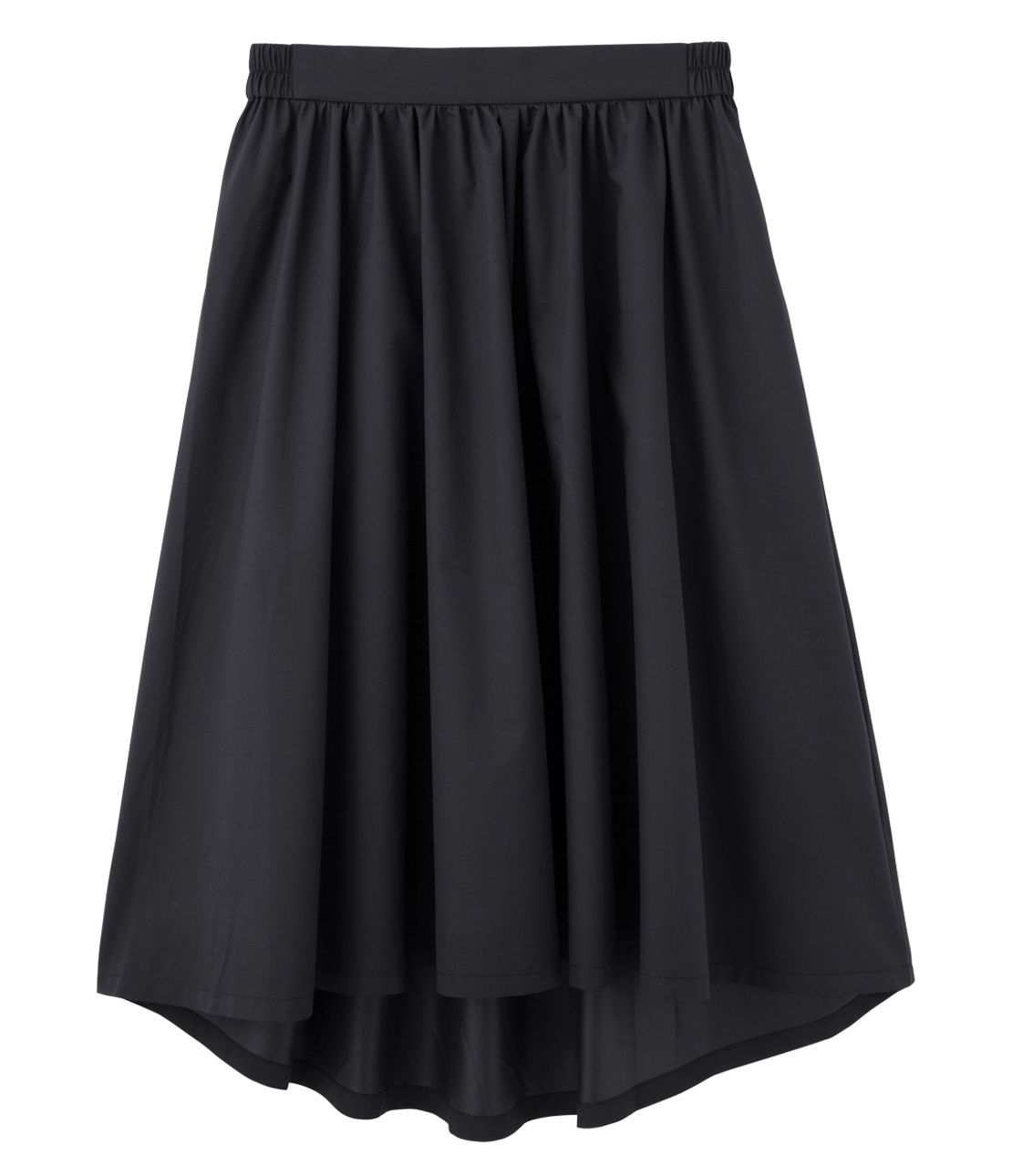 Flared skirt that repels water