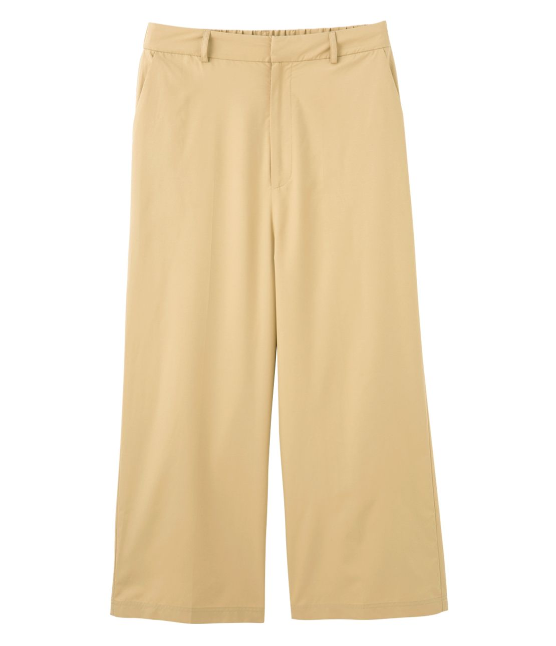 Wide ankle pants to repel water