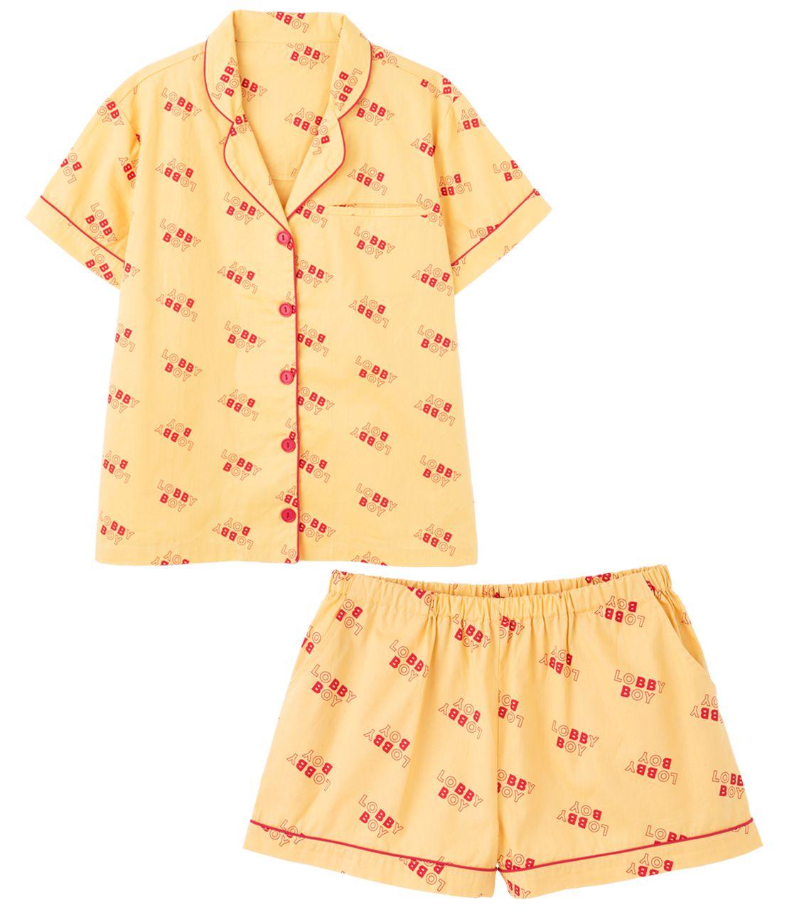 YM logo shirt pajamas
