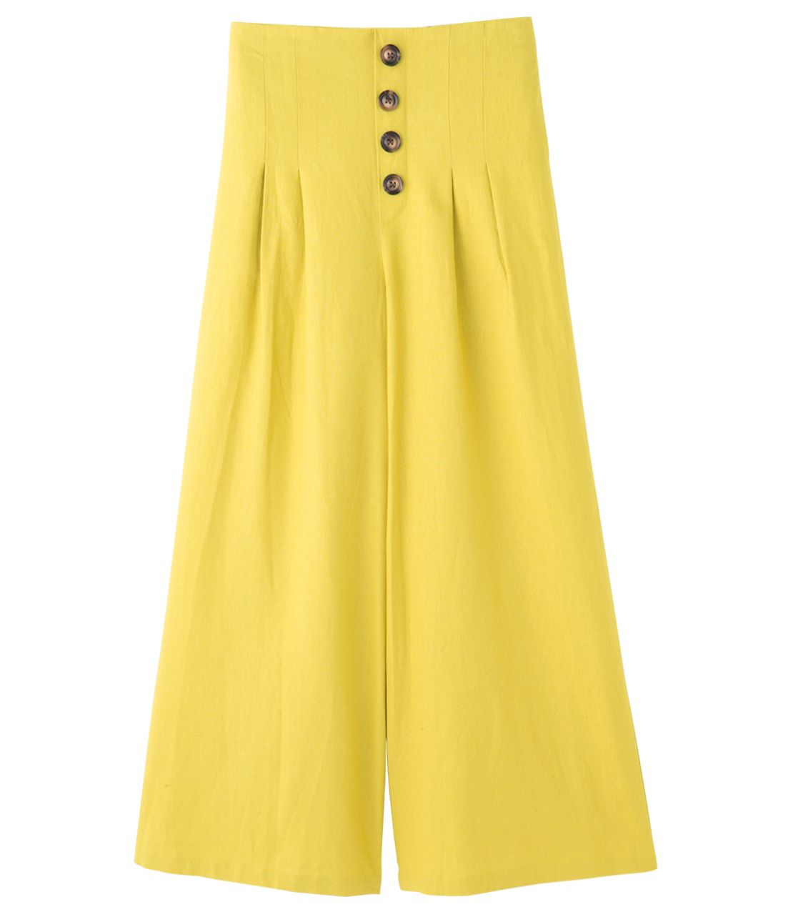 Comfortable high-waisted wide pants