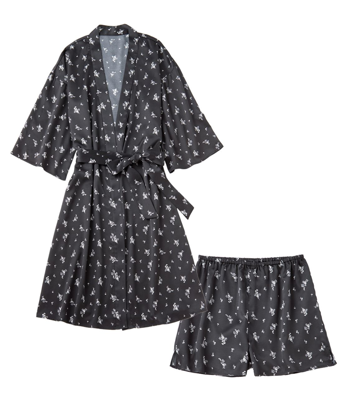 Satin Robe Set